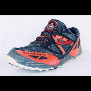 BROOKS Cascadia 9 Trail Running Athletic Size 10